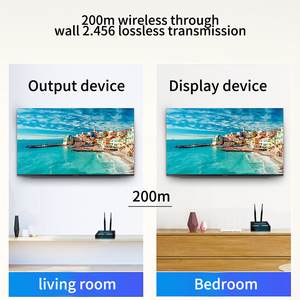 Image 5 - 200m Signal Send Wireless Receiver Transmitter Set HDMI Extender Replacement Electronic Entertainment WIFI Home TV Audio Video