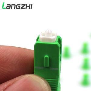 Image 5 - 10 шт./лот 0,9 мм стальной трубчатый волоконно оптический PLC сплиттер 1x8 SC/APCMini Blockless 1*8 Sc APC коннектор волоконно оптический PLC сплиттер