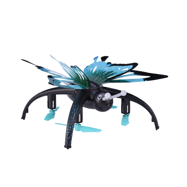 JJRC H42WH Butterfly Drone With 0.3MP HD Camera WIFI FPV Quadcopter Headless Mode Mini RC Selfie Drone Helicopter