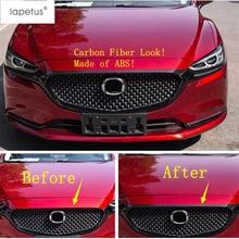 Lapetus аксессуары подходят для Mazda 6 ABS передний капот двигателя решетка решетки бампера Защита литья крышка комплект отделка