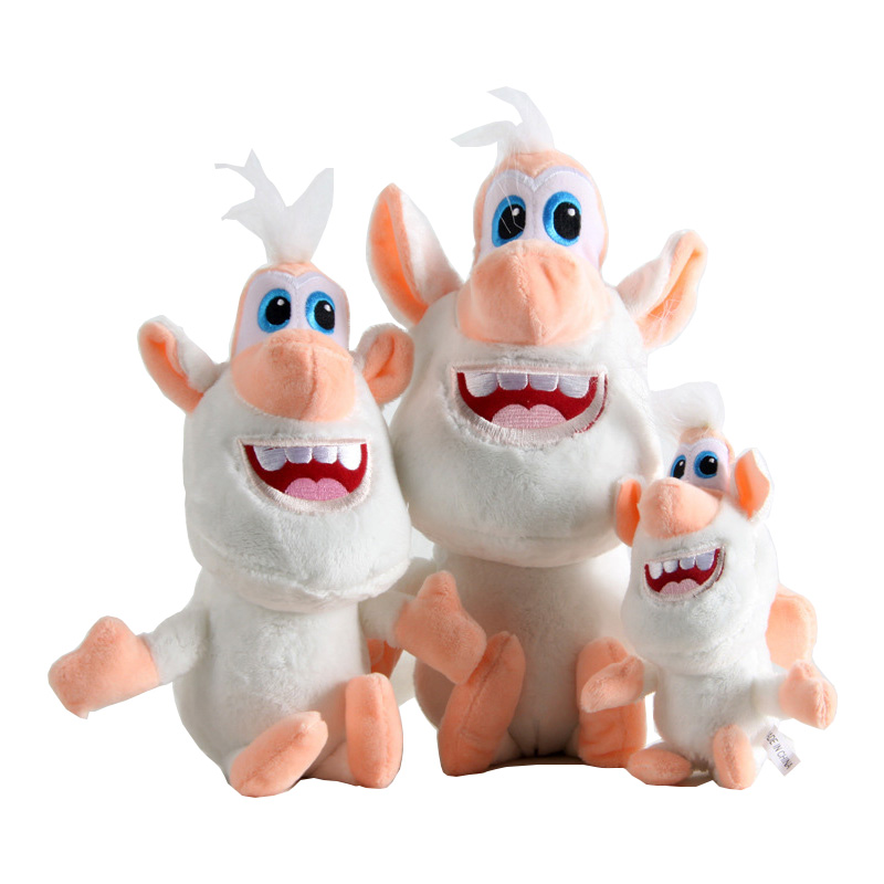3 Size Russia Cartoon White Pig Plush Toys Stuffed Doll Toy Birthday Christmas Gift For Kids Children