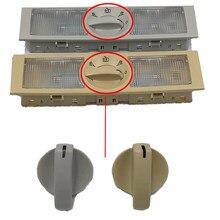Nuevo gris y Beige Lámpara de lectura luz trasera interruptor para VW POLO Vento Jetta Touran Seat Leon Altea Toledo 6Q0947291A 6Q0 947, 291