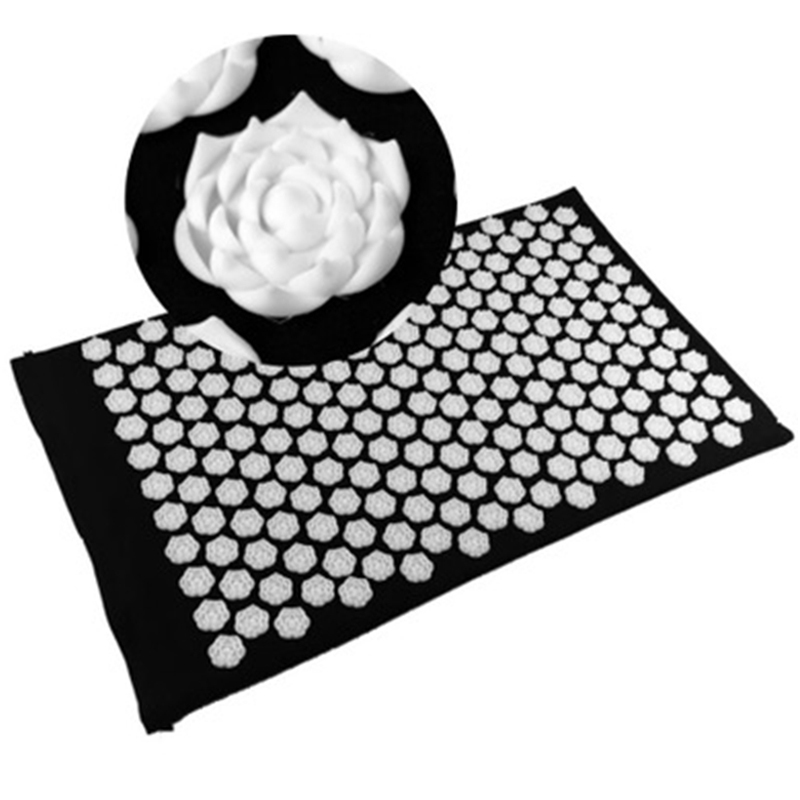 (67*42cm) Lotus Nails Acupuncture Massage Pads Massage Needle Cushion Yoga Massager Mat Acupressure Massage Cushion