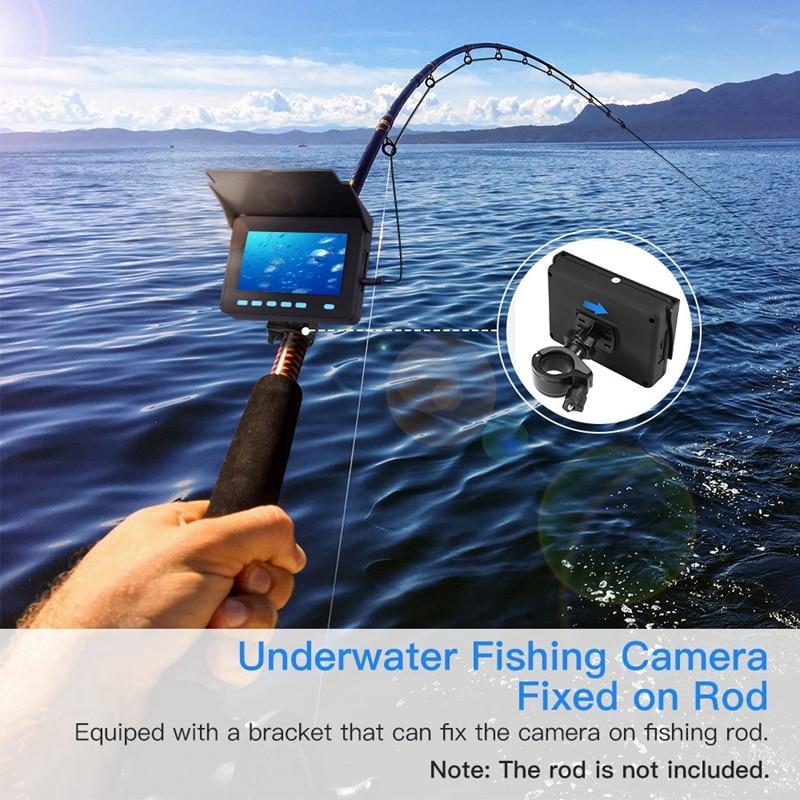 20 m câmera subaquática hd 1000tvl 8