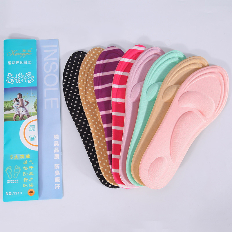 1 Pair 4D Sport Sponge Soft Insole High Heel Shoe Pad Pain Relief Arch Support Cushion Pad Sponge Anti Pain Shoe Insoles Cushion