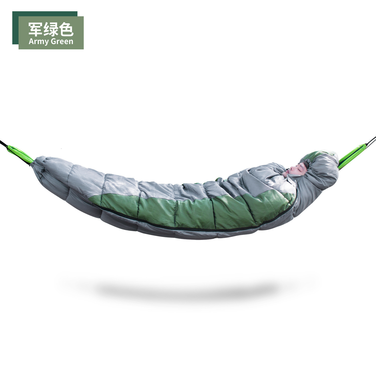 Multipurpose Hammock Insulation Cover Sleeping Bag Camping Keep Warm Outdoors Winter Pure Cotton Travel Sleeping Bag