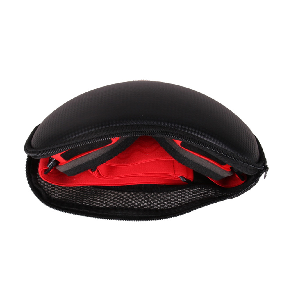 Snow Goggles Case Semi Hard EVA Ski Goggles Case Lightweight Travel Carrying Snowboard Goggles Bag Skiing Supplies