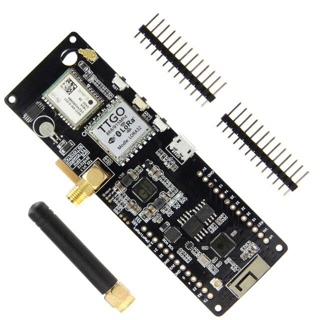 TTGO T Beam V1.1 ESP32 433/868/915Mhz/923MHZ WiFi Wireless Bluetooth Module ESP 32 GPS NEO 6M SMA LORA With  SoftRF