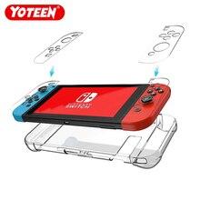 Klar Zurück Tasche Schutzhülle Fall Für Nintendo Schalter NS NX Fällen Abdeckung Für Nintendo Schalter Ultra Dünne PC Transparent tasche