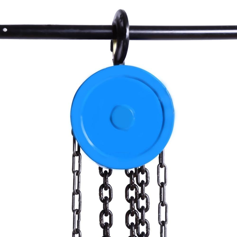 500kg 풀리 체인 블록 체인 호이스트 케이블 핸드 컨트롤 풀리 크레인 2.5m 수동 블록 리프트 액세서리
