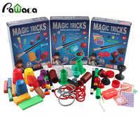Puzzle Einfache Magie Prop Anfänger Magie Kit Set Für Kinder-Spannende Zauberer Tricks Leistung Zeigen, manuelle + Anweisung Manuelle