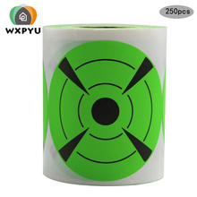 3inch per roll Self Targets for Shooting Firearms round Target Sticker High Quality Adhesive