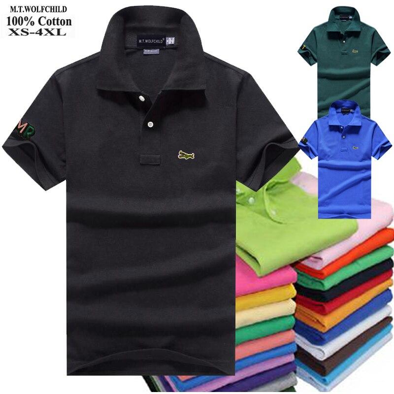 Top Quality 2020 Summer Fashion-design Mens Polos Shirt 100% Cotton Short Sleeve Polos Para Hombre Casual Male Tops XS-4XL