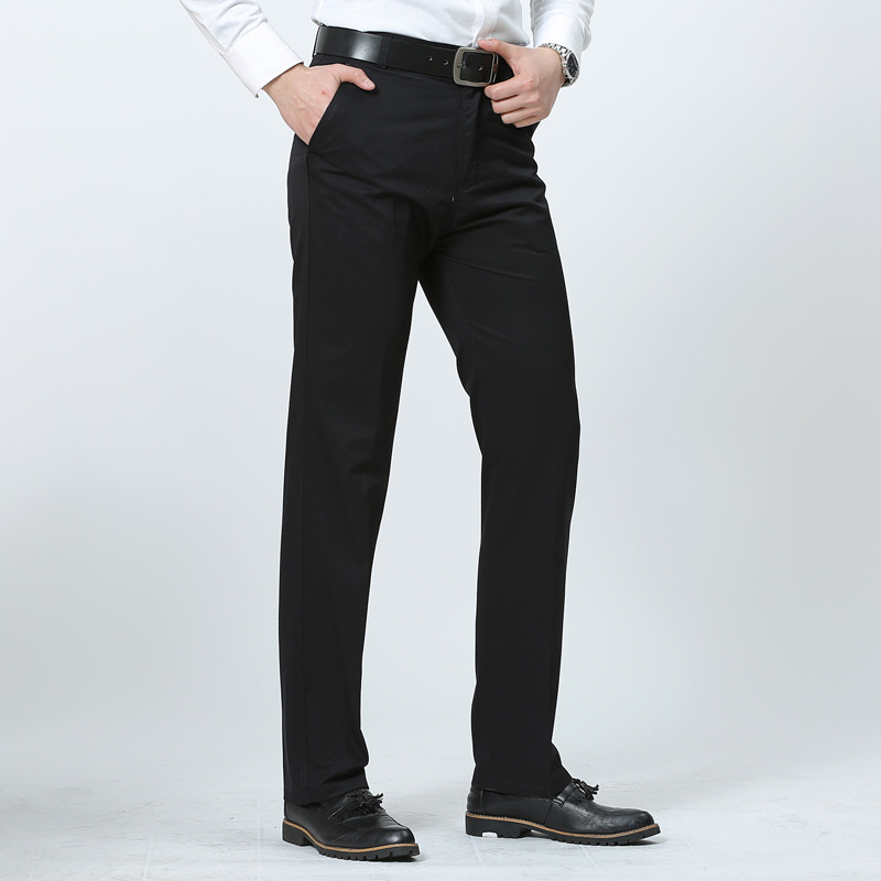 New Dress Business Trousers Office Casual Social Pants Spring Autumn Men Classic Pants Trousers Pantalones Hombre Dropshipping