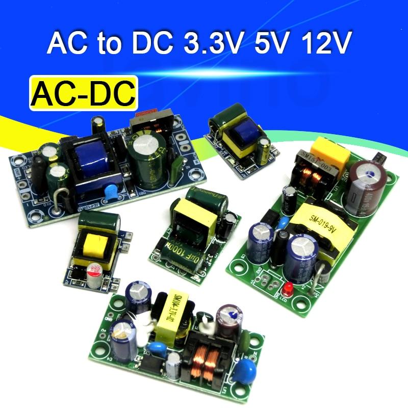 AC-DC прецизионный понижающий преобразователь 3,3 В/5 В/12 В переменного тока 3,3 В до В/5 В/12 В постоянного тока, понижающий трансформатор, модуль п...