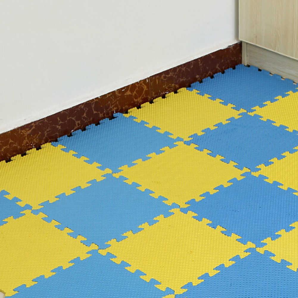 30x30cm EVA tapis de sol en mousse tapis de jeu pour enfants décoration de chambre anti-dérapant Puzzle tapis de jeu tapis de porte épais bébé ramper jouet de jeu Bab