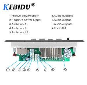 Image 4 - Kebidu 5 12 V Bluetooth5.0 MP3 Decoder Board Module Wireless MP3 Player LED Car Accessories Support TF Card Slot USB FM + Remote