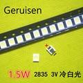 Универсальный светодиодный фонарь с подсветкой 1,5 Вт 3 в 1210 3528 2835 131LM CUW JHSP холодный белый ЖК-дисплей подсветка ТВ применение 4000 шт