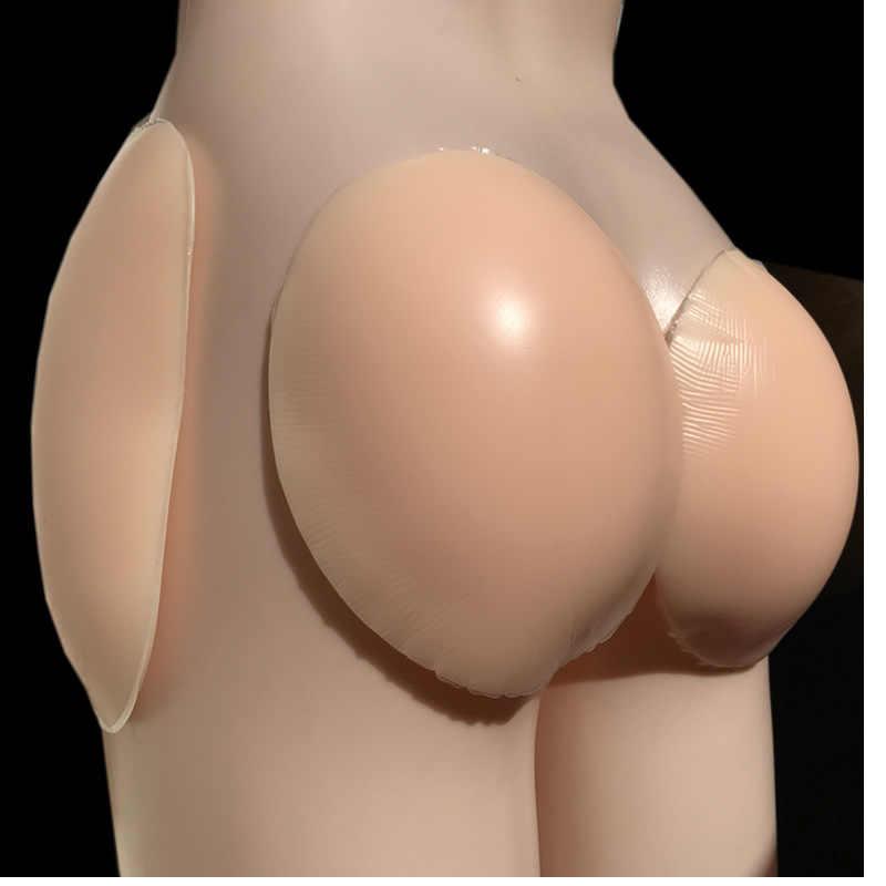 4 Uds auto-adhesivo reutilizable imbottita cadera Butt silicona Pad Anca especiality Native Hip enhancers