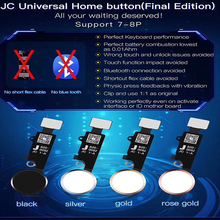 JC 5th Gen New Universal Home Button for iPhone 7/7 plus / 8/8 plus SE 2nd return button key back screen shot function
