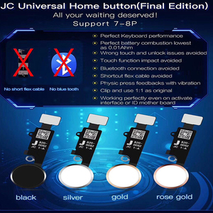 Image 1 - JC 5th Gen New Universal Home Button for iPhone 7/7 plus / 8/8 plus SE 2nd return button key back screen shot function