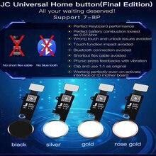 JC 5th Gen nouveau bouton accueil universel pour iPhone 7/7 plus / 8/8 plus SE 2nd bouton de retour clé fonction de prise de vue de lécran arrière