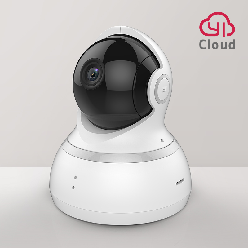 YI Dome Camera 1080p HD Cloud  amp Memory Card 360 camera Pan Tilt Zoom IP Camera Home Security Surveillance System Night Vision