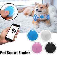Smart Finder Selbstporträt bluetooth 4,0 Mini Pet Alarm Finder GPS Locator Pet Anti Verloren Tracker Tracer für Katzen Hund Kinder