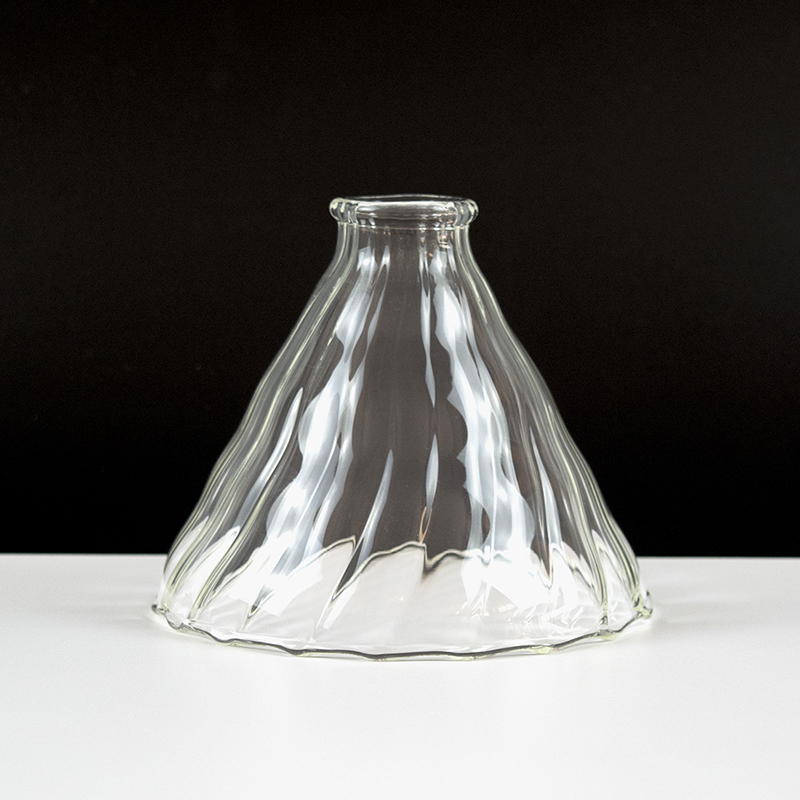 Многоразовый стеклянный фильтр для кофе термостойкий капельный фильтр для кофе практичный фильтр для кофе воронка прочный аксессуар для к...