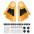 2 uds. Máquina de grabado inverso tablas de plumas con piezas y accesorios para sierra eléctrica Circular Banco herramientas de carpintería