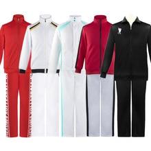 Haikyuu Karasuno Nekoma Fukurodani Aoba Johsai Shiratorizawa Jacket Pants Sportswear Cosplay Costume Haikiyu Jersey Uniform