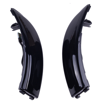 8A61-13B381-AF 1Pair Car Rearview Wing Mirror Marker Turn Signal LED Light Fit For Ford Fiesta B-Max 2008-2015 2016 2017