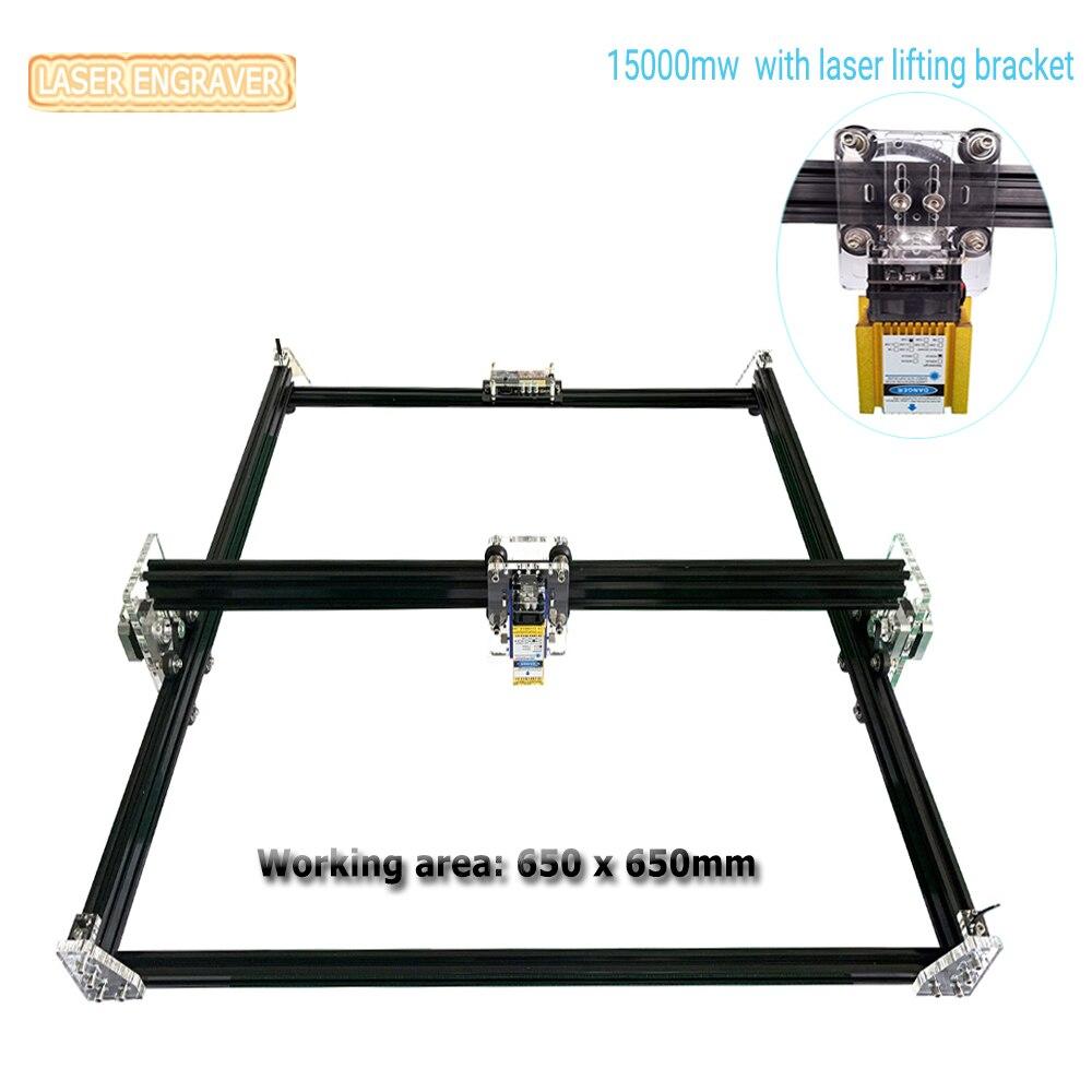 65x65cm MINI Laser Engraver 2 Axis Desktop Laser Printer DIY Laser Engraving Machine Sculpture And Cutting Wood CNC Laser Router