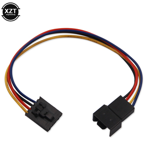 4PIN PC Computer Case CPU Fan Extension Cable Adapter Conversion Line 4 Pin 4 Wire Interface Connector Cable For DELL Computer