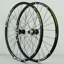Pasak-juego de ruedas ultraligeras para bicicleta de montaña, llantas de 26, 27,5, 29er, 700C, 24 orificios, freno de disco de extracción recto, rodamiento suave, delanteras 2, traseras 4, Alu