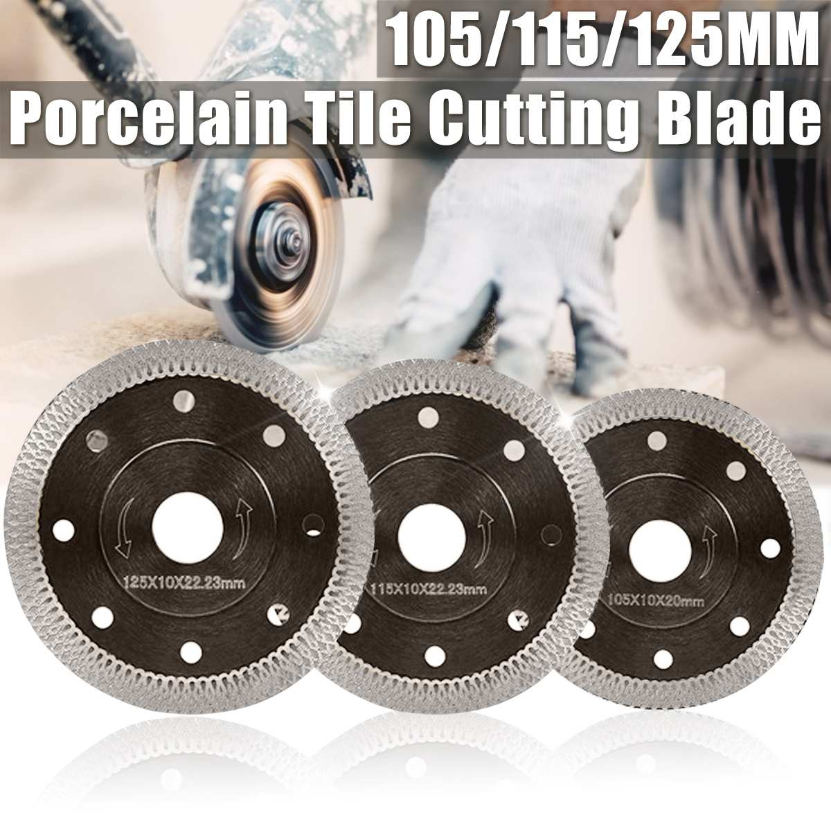 105/115/125mm Marble Cutting Blades Angle Grinder Blade Diamond Saw Blades Porcelain Tile Cutting Blades Cutting Wheel Marble