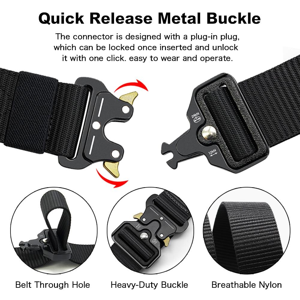 New Cobra Buckle Tactical Belt 4