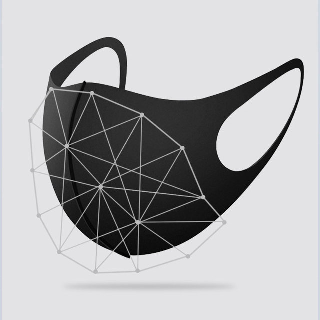 Dust Windproof Face Masks Washable Protective Face Mask Breathable Protective Mask Anti Pollution Flu Cover Mouth Mask Rouska 2