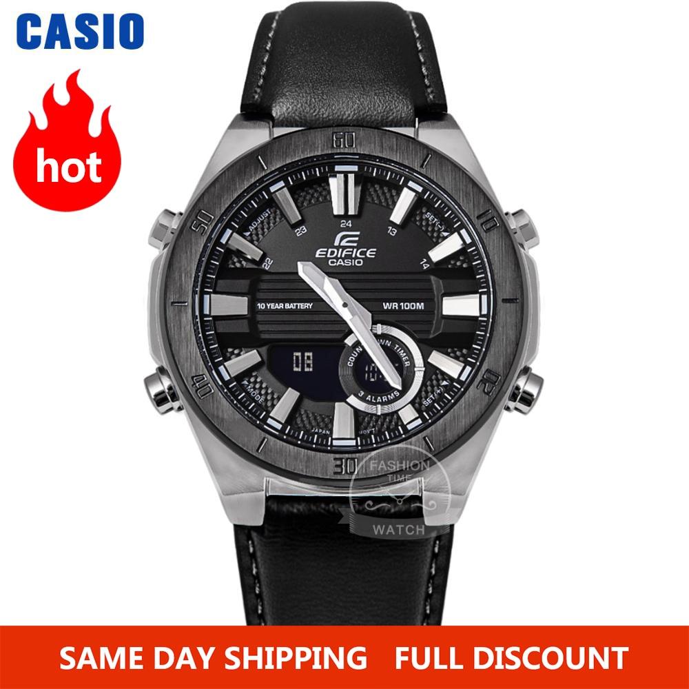 Casio Watch Edifice Watch Men Top Luxury Set Quartz 100m Waterproof Men Watch Sport Military Relogio Masculino