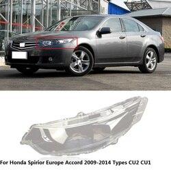 CAPQX – couvercle de phare avant pour Honda Spirior Europe Accord CU2 CU1 2009 – 2014