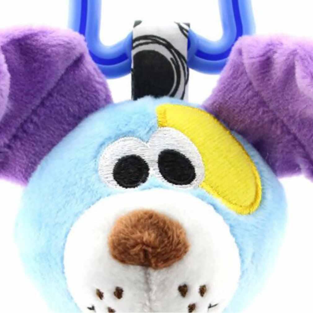 Bebek arabası kolye konfor oyuncak 0-1 yaşındaki araba asılı yatak asılı hayvan el kapmak çıngırak köpek aslan fil