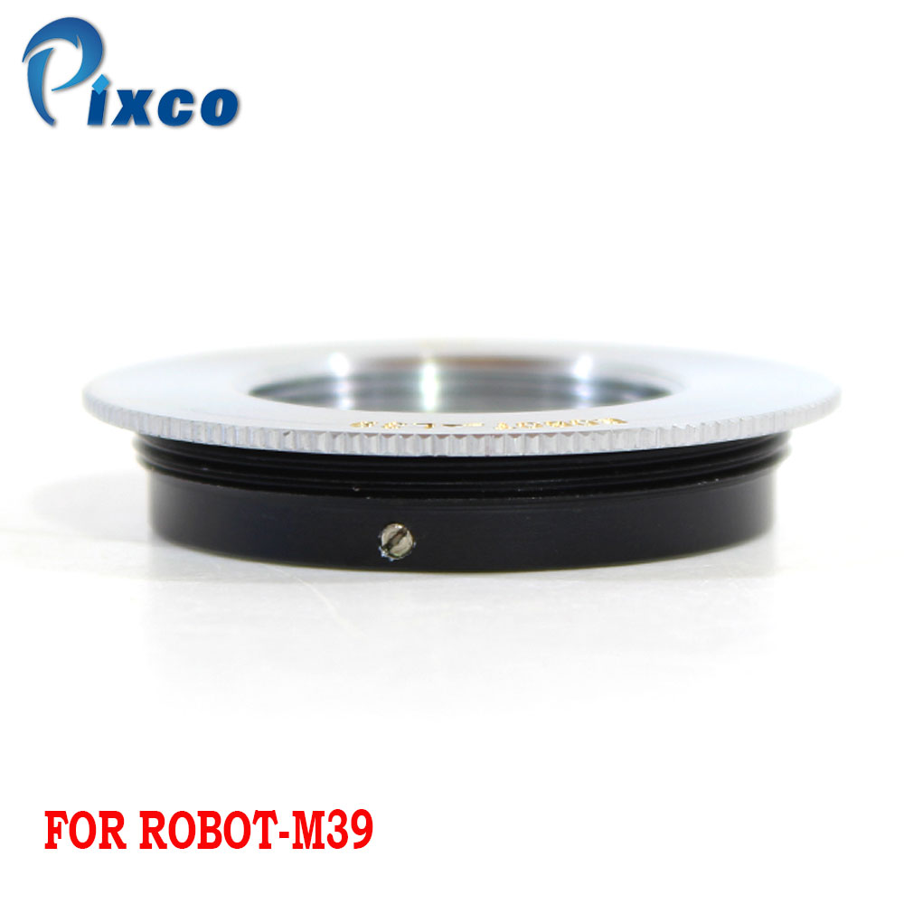 Robot Screw Mount Lens to M39 Mount Camera Adapter for The use of The 26mm Robert Lens