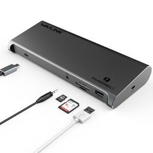 Image 5 - Thunderbolt 3 4K Display Docking Station USB C 4K DisplayPort Power Delivery Gigabit Ethernet for MacBook Pro [Intel Certified ]