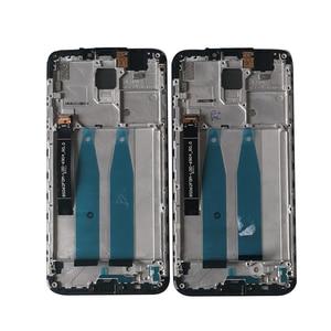 "Image 4 - 6.2""Original M&Sen For Meizu X8 M852H LCD Screen Display Frame+Touch Screen Panel Digitizer For 2220*1080 Meizu X8 X 8 Display"