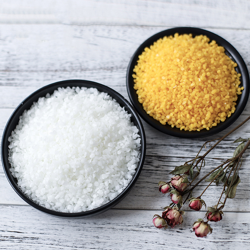 100g/300g/500g/1kg Raw Materials For Aromatherapy Diy Wax Flakes Natural White Yellow Beeswax Honey Wax Granules Diy Lip Balm