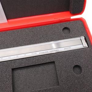 Image 5 - الطلب الفرجار 0 150 0 200 300 مللي متر 0.01 مللي متر صناعة عالية الدقة الفولاذ المقاوم للصدأ الورنية الفرجار للصدمات متري أداة قياس