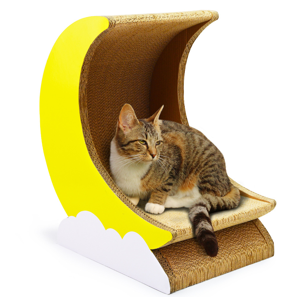 Cat scratch plaat gegolfd papier kat spelen board kat speelhuis kat krabpaal dierbenodigdheden kat speelgoed knagen speelgoed