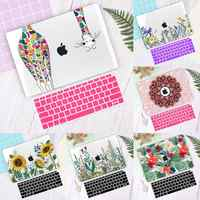 Laptop Case for Apple MacBook Air Pro Retina 11 12 13 16 inch Touch bar 2020 A2141 A2159 A1932 A2179 Hard shell Keyboard Cover
