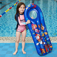 PVC Inflatable Buoyancy Board for Kids Pool Floats Water Thickening Floating Float Seat Bo-at Pool Swimming Board 114x60cm