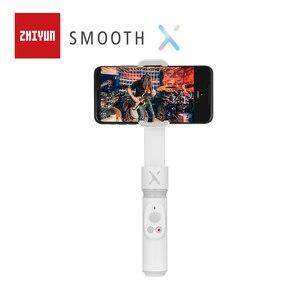 Image 5 - Zhiyun 부드러운 X XS 스마트 폰 짐벌 핸드 헬드 포켓 안정제 Sefie 스틱 for iPhone11Pro/Max for Android 삼성 VS Smooth 4